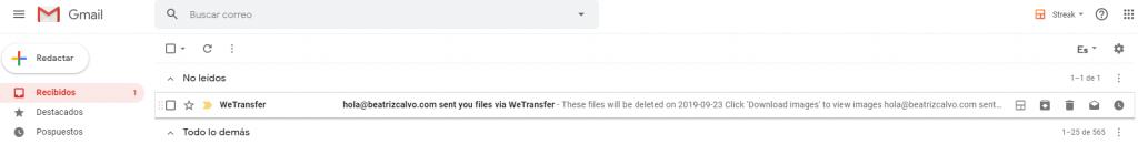 Wetransfer-archivos-enviados
